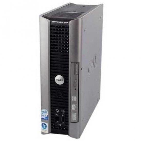 Купить Б/У Системный блок Dell Optiplex 755 USFF Intel Dual Core E6550 2GB DDR2 noHDD noOS